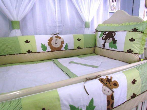 Kit Berço para decorar quarto de bebê32