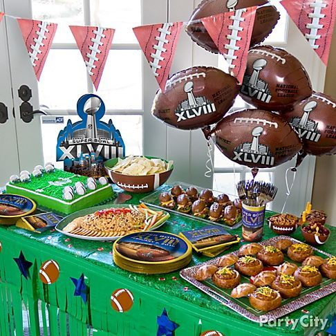 Super Bowl Super Bowl Parties Pinterest