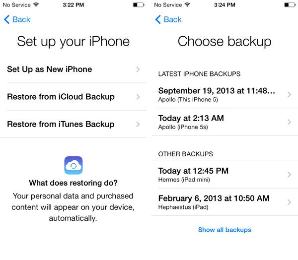 Iphone icloud backup recovery 3.0