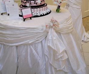 Cake Table Wedding Cake Table Pinterest