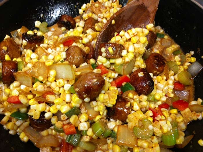 Corn Maque Choux Recipe | Food. Want now. | Pinterest
