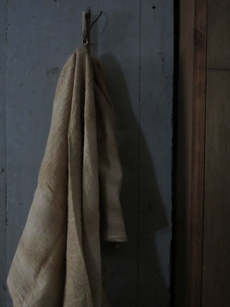 Hook with towel in kitchen. | My Primitive Farmhouse | Pinterest