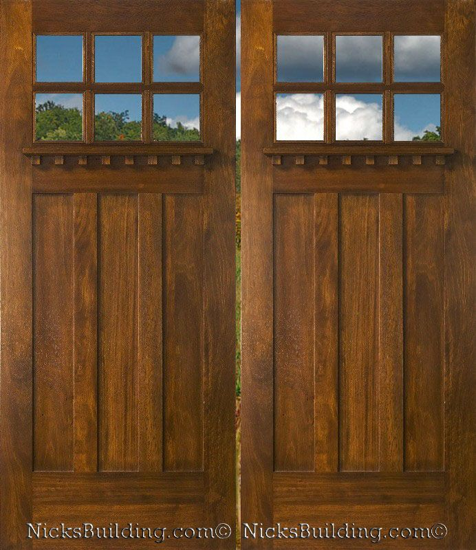Craftsman style front door craftsman style pinterest for Craftsman entry doors