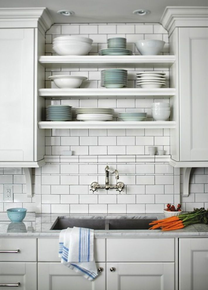 Floating Shelves Over The Sink Kitchen Dinning Room Pinterest