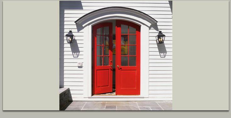 Red Double Doors Doors I 39 D Love To Open Pinterest