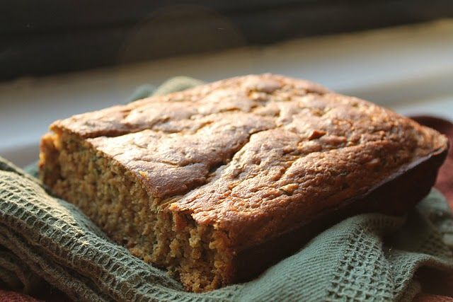 Gluten-free Zucchini bread. I made this last week and it was delicious ...