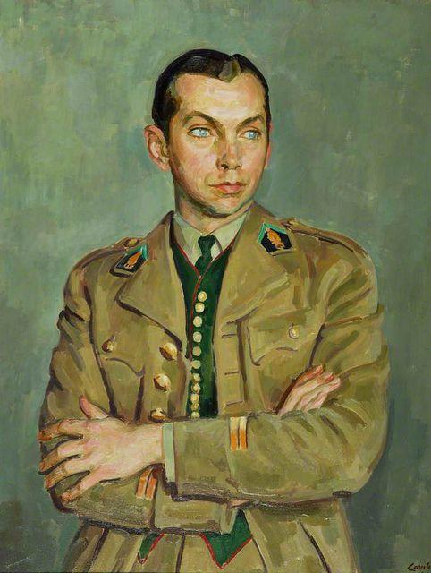 Portrait 1941 by Henry Taylor Lamb (1883-1960)