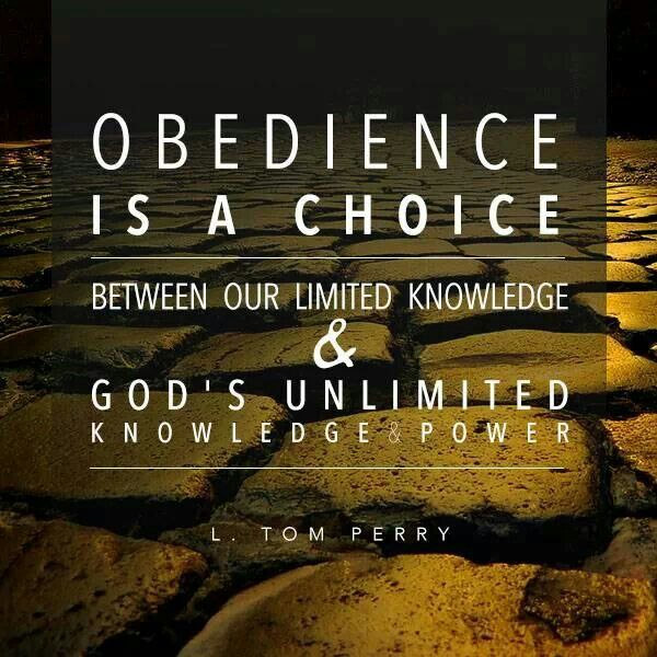 Obedience | Church | Pinterest