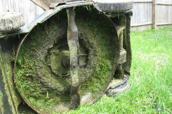 Lawn mower maintenance and repair