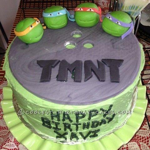 birthday cakes teenage mutant ninja turtles