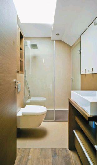 Baño Pequeno Alargado:Pequeño Baño alargado – Small bath