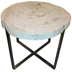 Wood slice quot quot table quot google search home ideas pinterest