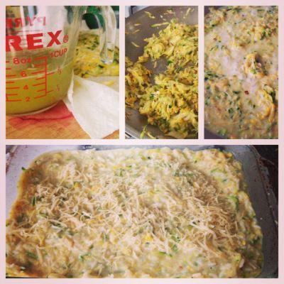 Julia Child's Tian de Courgettes au Riz (Zucchini and Rice Tian)