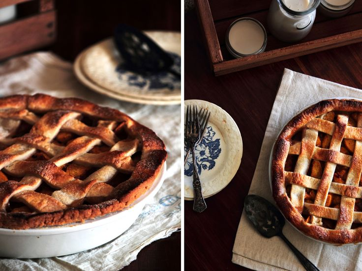 Vanilla Cardamom Peach Pie | Just peachy | Pinterest