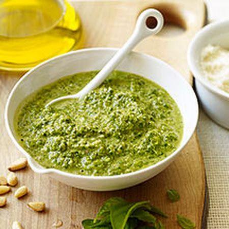 Lighter Pesto Recipes — Dishmaps