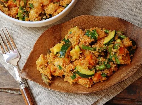Grilled Veggie Quinoa