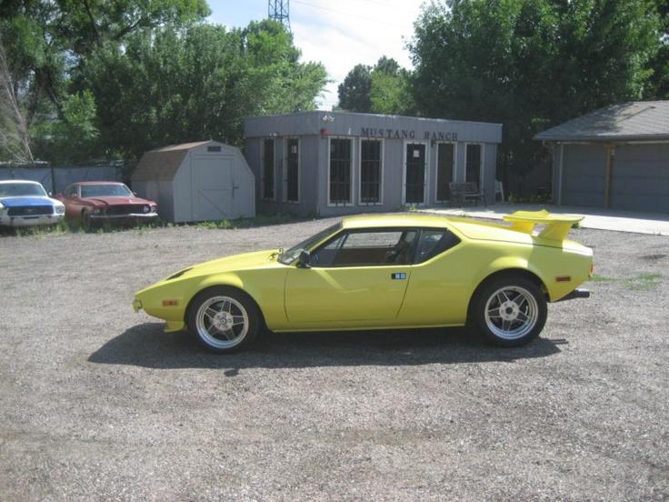 1972 Detomaso ford pantera