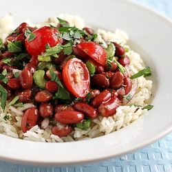 red beans and rice salad | Yum! Dinner Ideas! | Pinterest