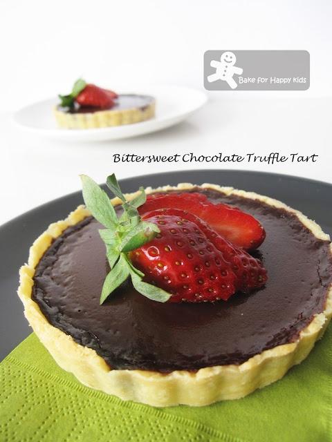 Bittersweet Chocolate Truffle Tart | Pies, Tarts & Cobblers | Pintere ...