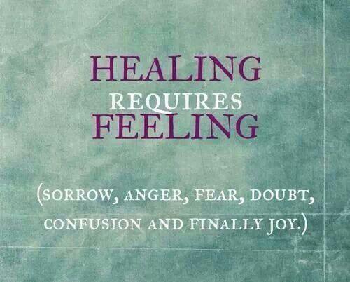 Its ok to feel