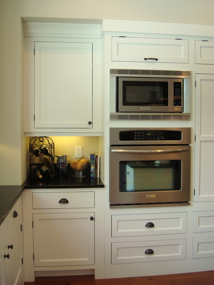 Wall paint BM Edgecomb Gray Cabinets local cabinet maker, white