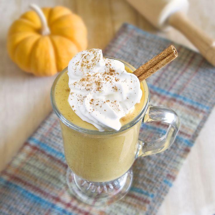 Vegan Pumpkin Pie Shake-Amazing recipe for pumpkin butter on the same ...