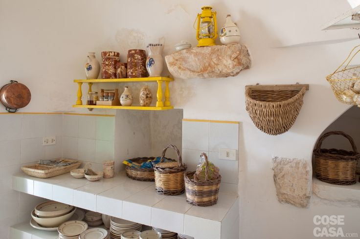 Cucina #cucina #kitchen #trullo #puglia #casa #home