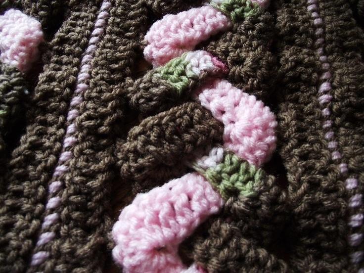 CROCHET BLANKET PATTERN via Etsy. Mainly crochet Pinterest