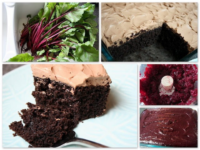 CHOCOLATE BEET CAKE I've been wanting to try this since last fall. I ...
