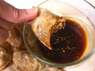 Home with Mandy: Pan Fried Shrimp and Pork Potstickers