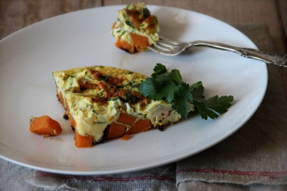 Meatless Mondays: Sweet Potato Frittata | TakePart use coconut cream ...