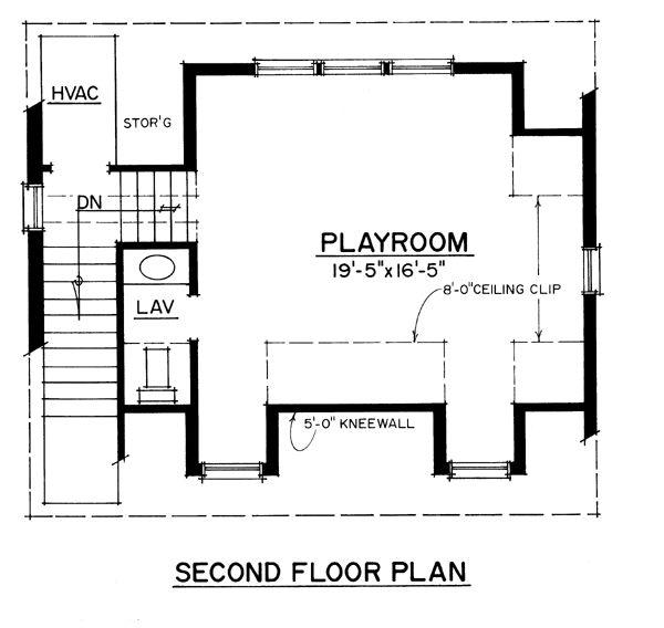 Cape cod cottage craftsman traditional garage plan 86040 for Cape cod second floor plans