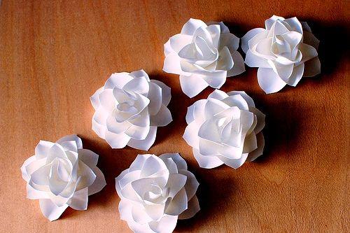 Цветы из бумаги своими руками как сложить бумагу