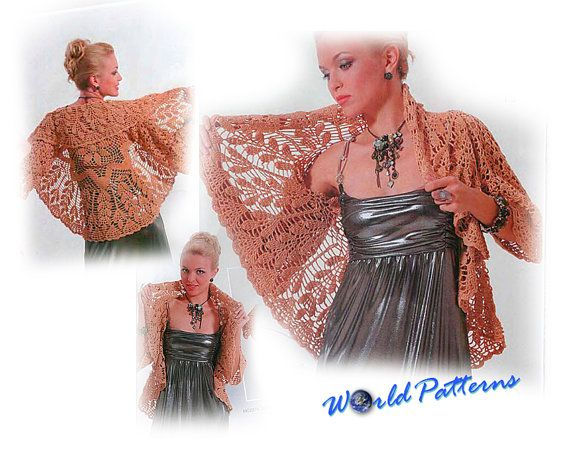 Crochet Patterns Russian Magazine eBook Irish Lace Dresses Wedding Fa ...