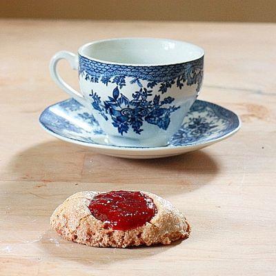 Strawberry Jam Thumbprints | Food? | Pinterest