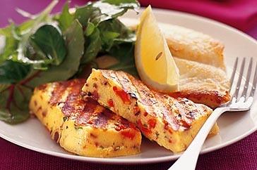 Grilled polenta   Barbeque   Pinterest