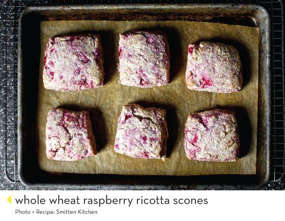whole wheat raspberry ricotta scones smitten kitchen Design Crush