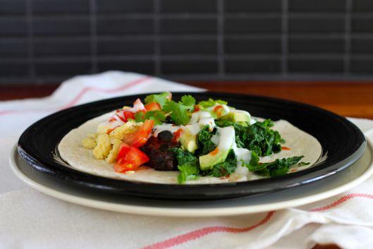 kale and black bean breakfast tacos   eggs   Pinterest