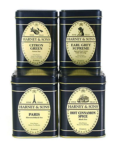 Harney Tea 4pc Loose Tea Set