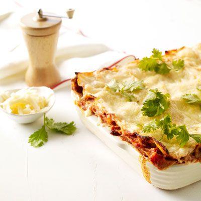 Tex-Mex Lasagna | RECIPES I WANT TO TRY | Pinterest