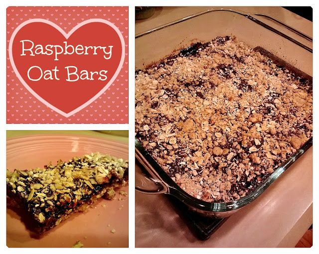 Skinny Jeans: Raspberry Oat Bars | Food | Pinterest