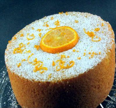 Orange Yogurt Cake - might do orange glaze if it needs some sugar/zing ...