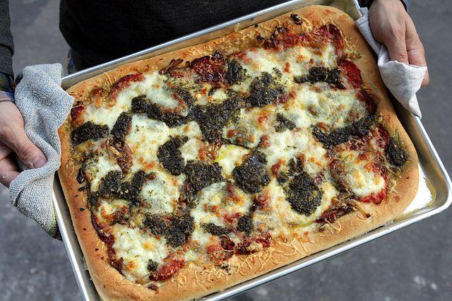 Party-Pan Pizza Recipe — Dishmaps