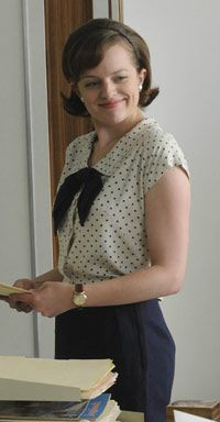 Peggy Olson from Mad Men. My favorite character.
