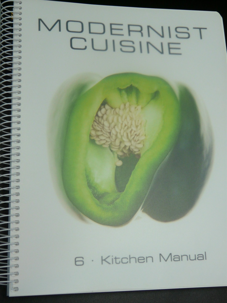 Modernist cuisine kitchen manual books worth reading for Amazon modernist cuisine at home