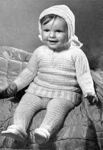 Legging Suit | No. 616 | Knitting Patterns Free vintage knitting