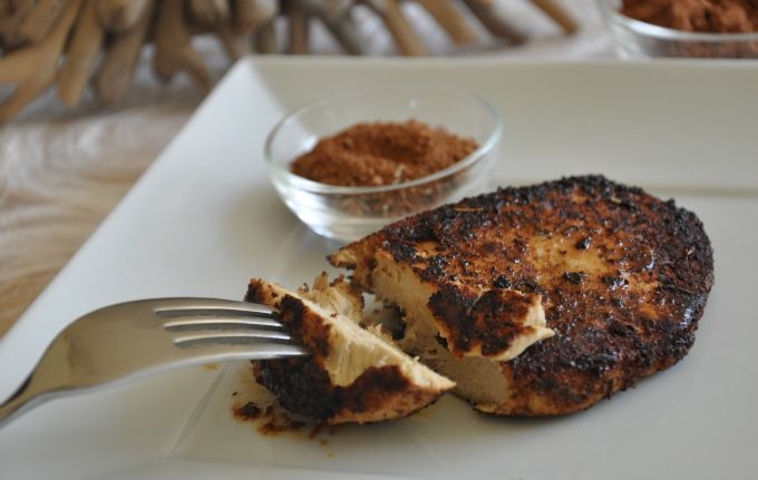 Grilled Chicken Breasts With North African Spice Paste Recipes ...