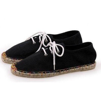 Toms Classics Womens Canvas Shoes Black - $36.99