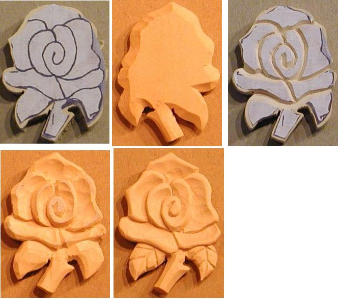 How Wood Carving patterns free 2d Rose | Chainsaw carving patterns ...