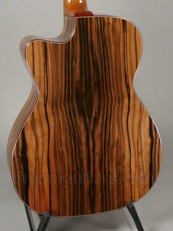 Macassar Ebony Brown guitar